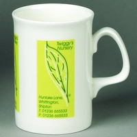 Opal Bone China Mug - White - Standard Service